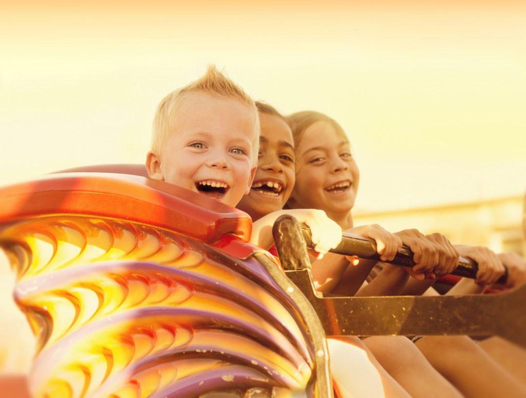 Kids On Rollercoaster