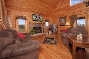 Deer Run 2 bedroom cabin in Pigeon Forge