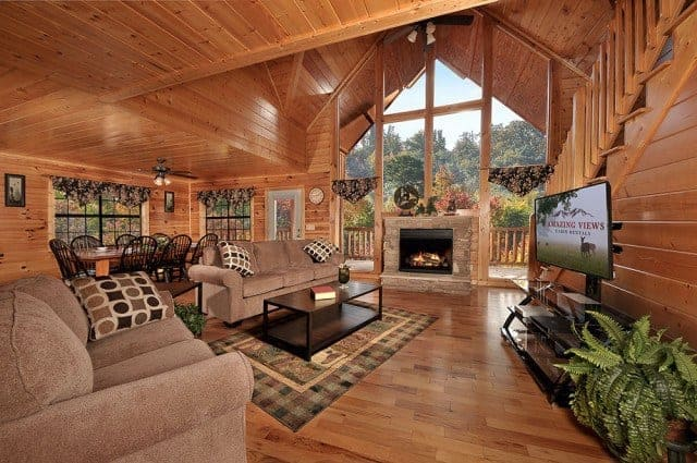 Smoky Mountain Cabins ~ Amenities that make our great smoky mountains cabins for
