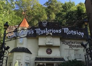 Mysterious Mansion haunted house attraction in Gatlinburg Tn